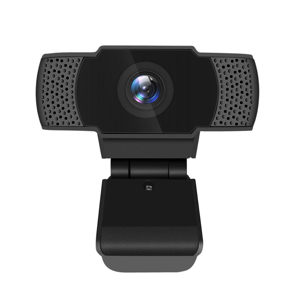 USB HD 1080P Webcam Built-in Microphone High-end Video Call Computer Peripheral Web Camera Laptop Black