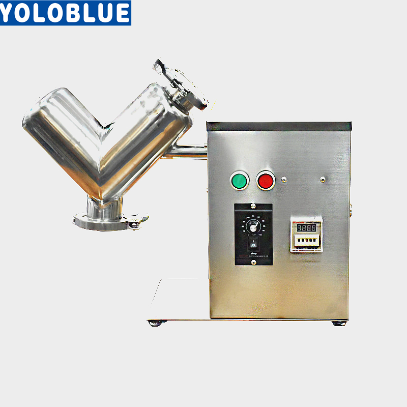 VH-2 2L Small V Type Powder Mixer Mixing Machine Blender For Pharmaceutical Food