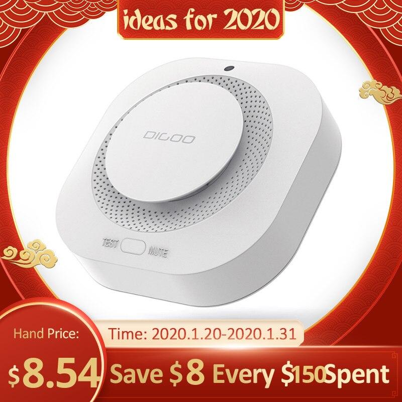 DIGOO DG-SA01 Smoke Alarm Detector Independent Photoelectric Smoke Sensor Remote Alert Work With HOSA HAMA