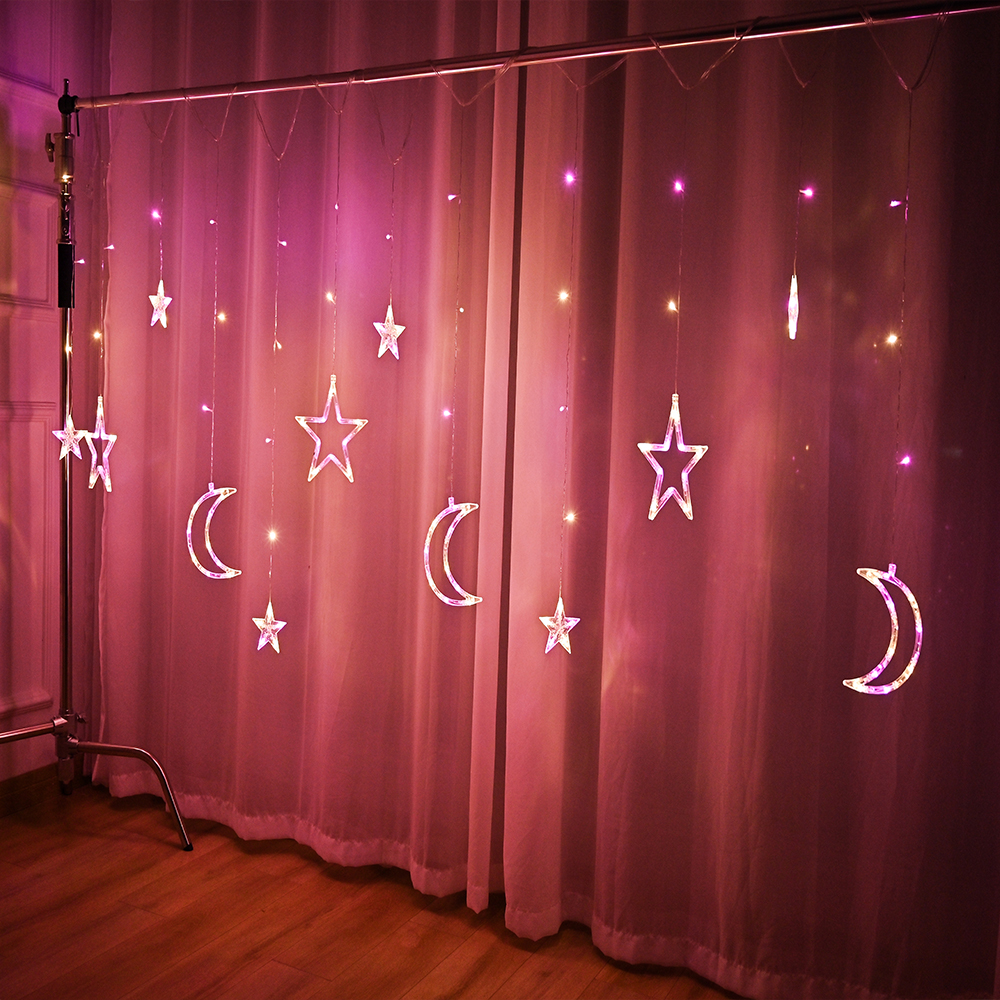 cheapest QYJSD 3M LED Garland Cotton Ball String Light Indoor Christmas New Year Holiday Wedding BabyBed Fairy Door Lights Decoration
