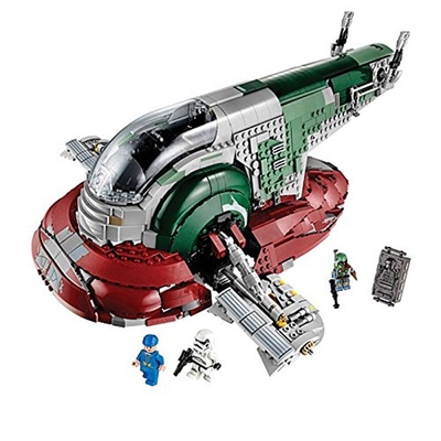 Compatible Lepining <font><b>05037</b></font> The Genuine UCS Slave I Slave NO.1 Mobile 2067Pcs Building Block Bricks Toys Star Wars Movie 75060 image