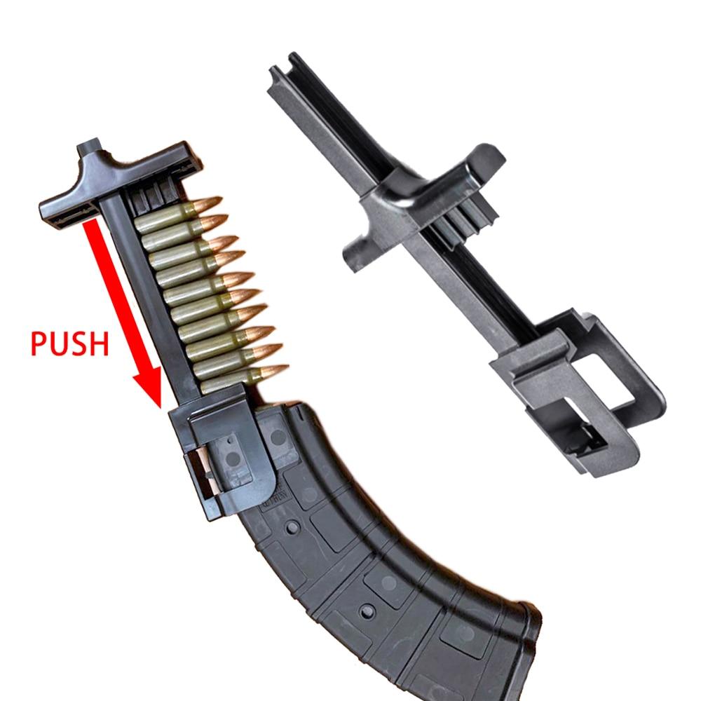 Универсальный журнал, быстрый погрузчик для винтовок и пистолетов подходит для 223 5,56 308 7,62x39 9 мм 40S & W Glock SIG P226 AR15 AK47 Evo MP5 и т. д.