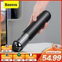 Baseus 15000Pa Auto Stofzuiger Draadloze Stofzuiger Met Led Licht Voor Thuis Pc Cleaning Draagbare Handheld Stofzuiger