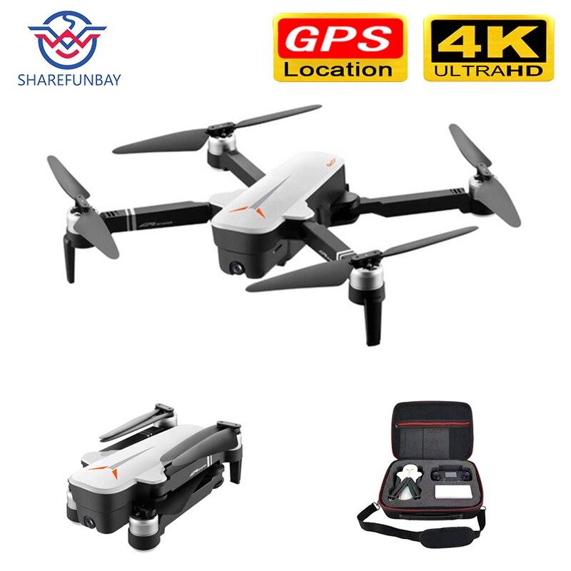 X9 Drone 4K HD GPS drone WiFi fpv Quadcopter bürstenlosen motor servo kamera intelligente rückkehr drohne mit kamera