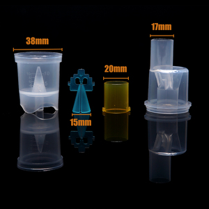 Image 4 - 10ml nebulizador medicina garrafa casa equipamentos médicos copo atomizado compressor de ar alergia inalador aerossol medicação spray copo