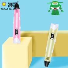 3D Printer Pen 3D Color Picker Pen 48 Sets Consume Material Electronic Photo Album Scissors and Fingerstall set(3PCS)