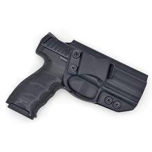 Interno dentro da cintura kydex iwb coldre para hk vp9 vp9sk ocultação clipe escondido transportar mão direita desenhar
