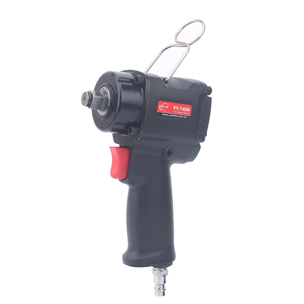 1 2 12 7mm Mini Pneumatic Impact Wrench Mini Auto Reparing Spanners Keys Single Hammer Impact Wrench 450n m
