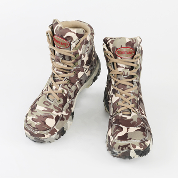 Outdoor Hiking Shoes Men Military Tactical Boots Autumn Camo Camping Trekking Boot Climbing Non-slip Wear-resistant Hiking Shoes 4