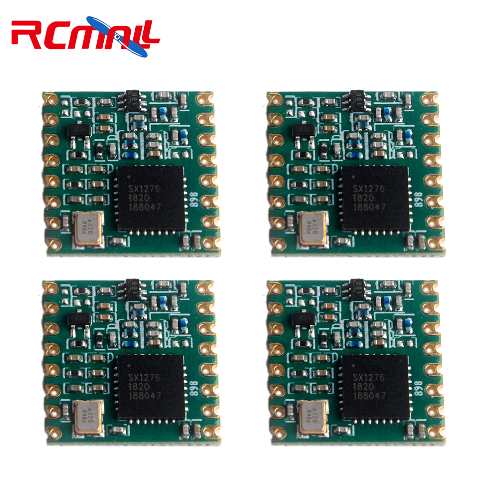 4pcs/lot 868MHz RF LoRa Module SX1276 Chip RFW95 Long-Distance Communication Receiver And Transmitter IOT FZ3020-lora