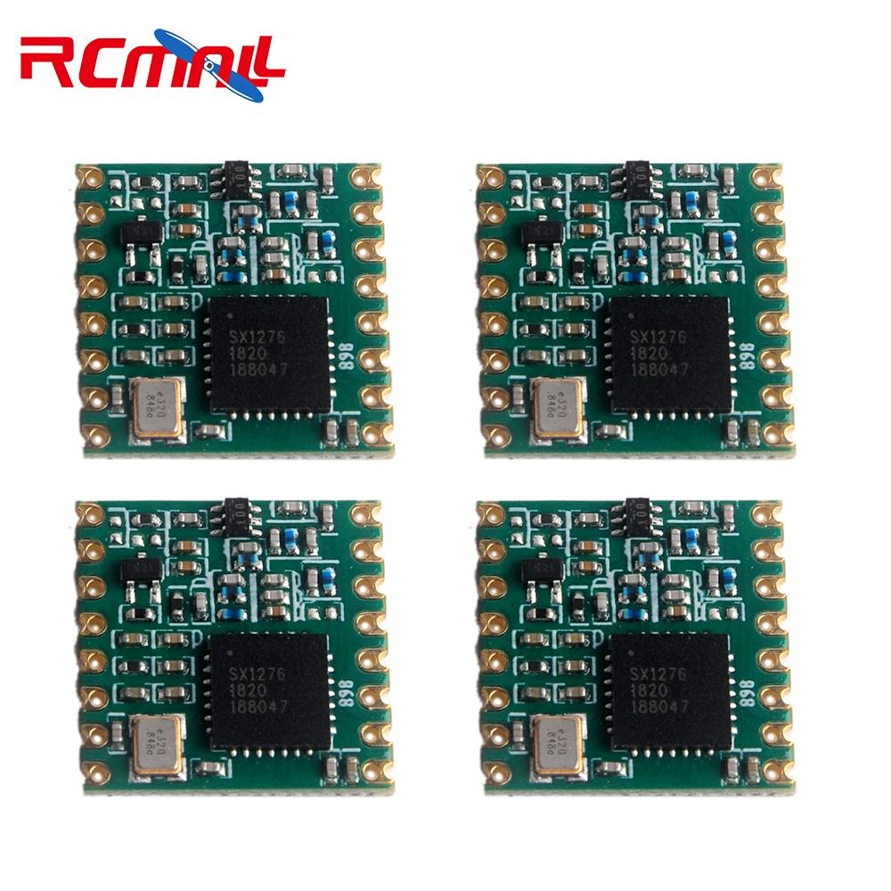 4pcs/lot 868MHz RF LoRa Module SX1276 Chip RFW95 Long-Distance Communication Receiver And Transmitter IOT FZ3020-lora
