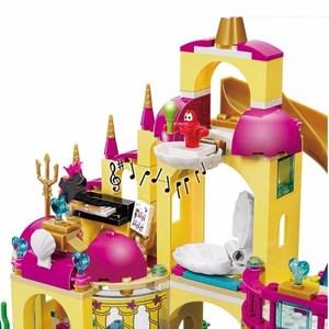 Image 3 - 41063 فتاة الأميرة الأصدقاء سلسلة تحت سطح البحر قصر قوالب بناء كتل مجموعات لعبة فتاة الأصدقاء متوافق مع كتل فتاة اللعب