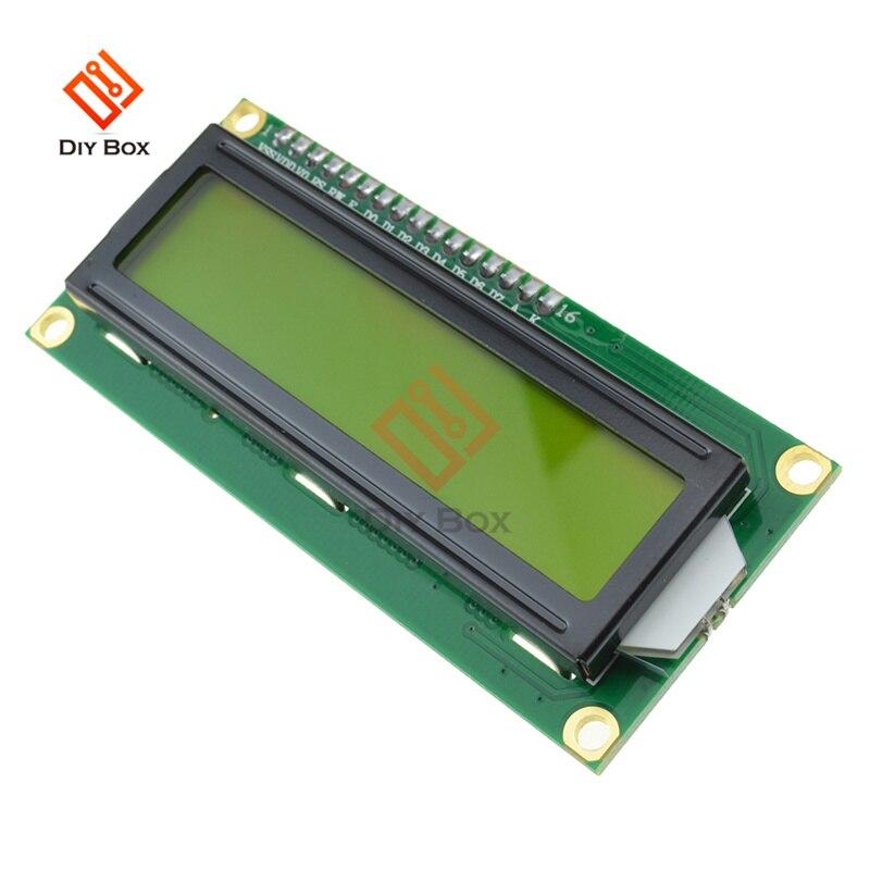 LCD1602 LCD Module Yellow Screen IIC/I2C 1602 For Arduino 1602 LCD UNO R3 Mega2560 Green screen