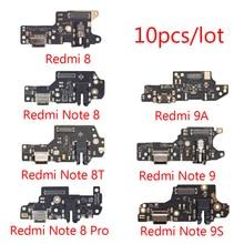 10 개/몫 용 8 8 9 8T 충전 포트 커넥터 보드 마이크 부품 플렉스 케이블