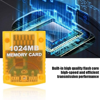 1024MB Memory Card Game For WII Game Square Game Console,High-Speed and Efficient Transmission Performance image