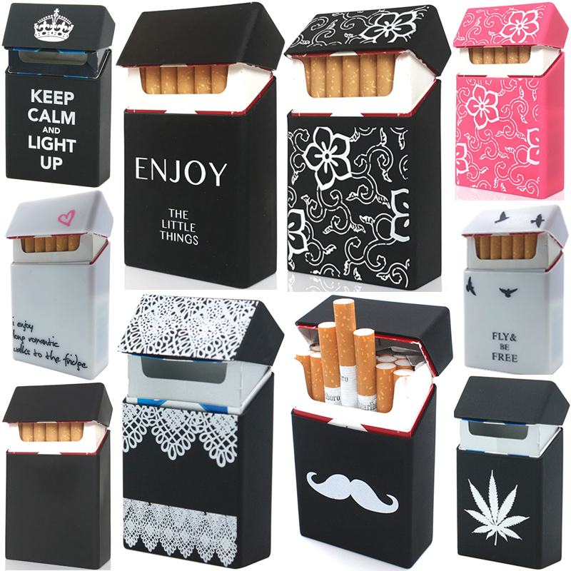 Cigarette-Cases Gadgets Tobacco-Box Tabaco-Case Men Gift Silicone Portable Soft