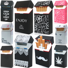 Soft Portable Silicone Cigarette Cases For 20 Cigarette Accessories Ci