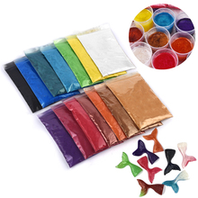 Epoxy Resin Mica-Powder Soap-Making Glue-Pigments-Material Dye-Pearl-Pigment Crystal-Mold