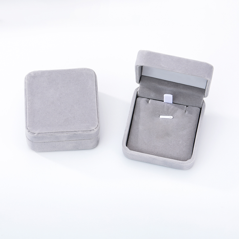 Velvet Cloth Gift Boxes Minimalism Ring Box Jewelry Display Necklace Display Accessories Wedding