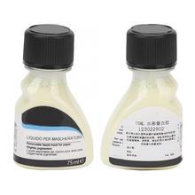 Líquido para pintura con acuarela, líquido colorante adhesivo líquido para pintura artística, 75mL