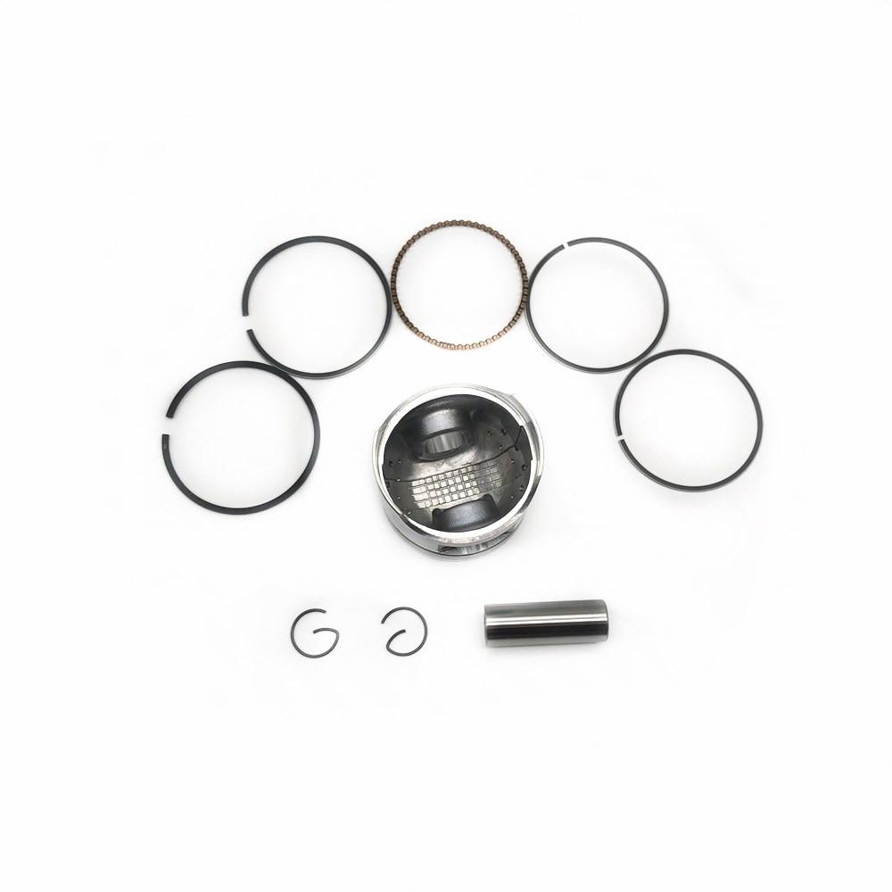 Gy6 50/60/80/100/125/150cc cilindro kit 39mm 44mm 47mm 50mm 52.4mm 57.4mm conjunto de anel de pistão para 4 tempos 50cc scooter atv