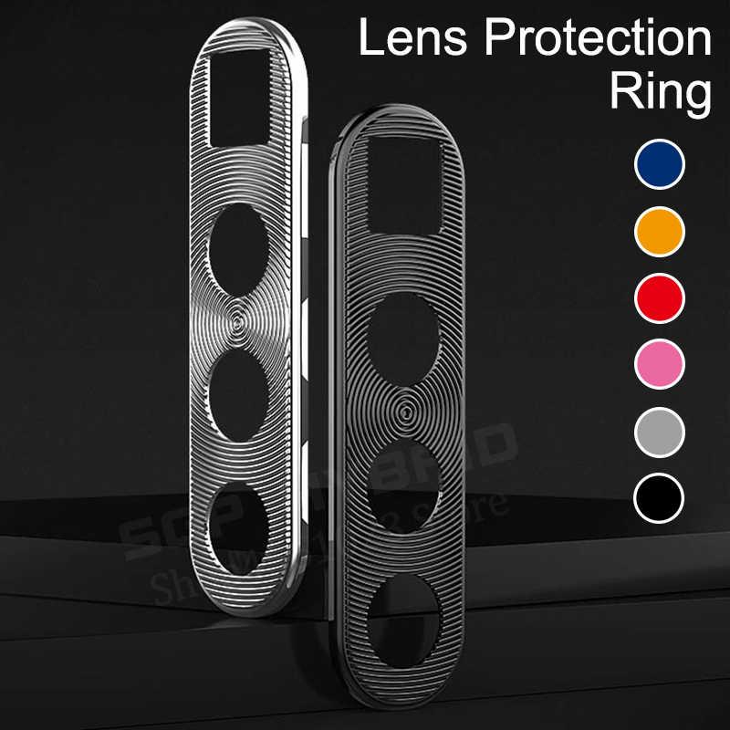 حامي عدسة الكاميرا حلقة تصفيح الألومنيوم ل شاومي Redmi نوت 8 برو 8Pro كاميرا حالة حلقات للغطاء حماية فاخرة واقية