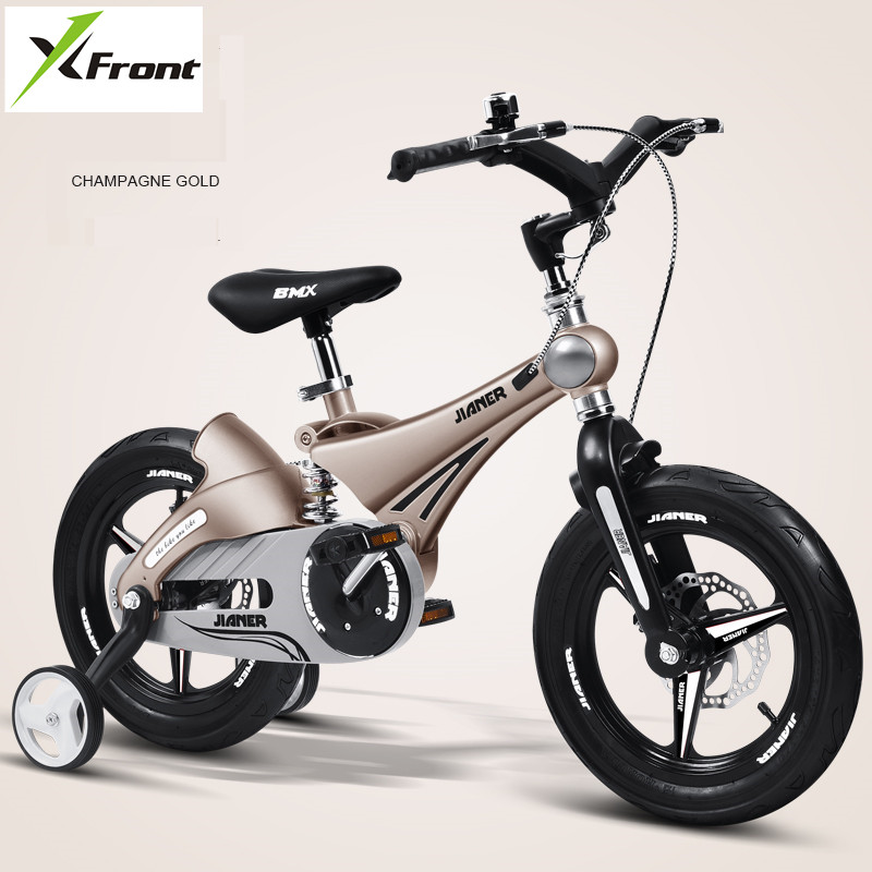 New Children's Bicycle 12/14/16 inch Wheel Magnesium alloy frame Baby SAFETY disc brake Suspension 2/4/6 years Child buggy bike|Bicycle| |  - title=