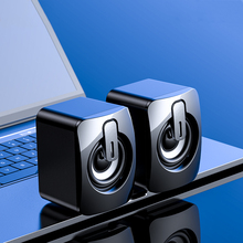 Mini Computer Speaker USB Wired Speakers 3D Stereo Sound Surround Loudspeaker for Laptop Notebook Bluetooth or Wired Loudspeaker