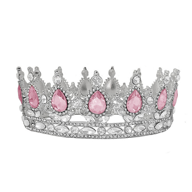 CC Tiaras and Crowns Hairbands Engagement Wedding Hair Accessories for Women Vintage Crown Jewelry Luxury Party Headdress YQ20|Hair Jewelry|   -