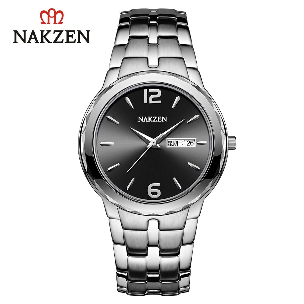 NAKZEN Couple Watches Quartz Watches Trending Products Men And Women Sports Wrist Watch Clock Splendid Lovers Watch Waterproof