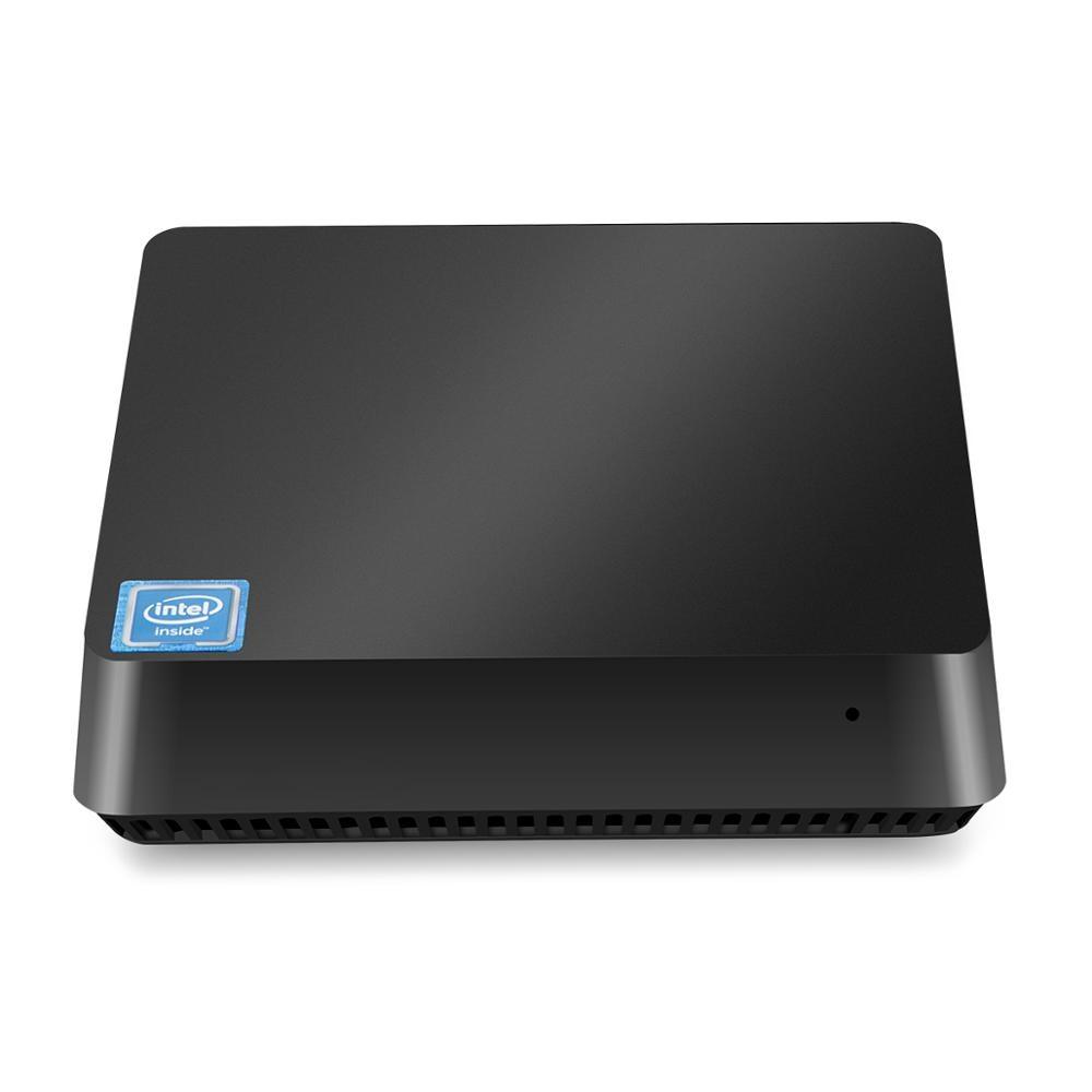 T11 Baytrail Z8350  Windows10 Mini Pc 4GB 32GB Dual Wifi  Support 2.5 HDD USB3.0 Windows10 Pocket Pc