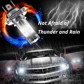 цена на H4 H7 100W Fog Light Car Led 8000K Headlight White Light Super Bright Fog Lamp Bulb Plug and Play Fog Bulb Direct Replaceme