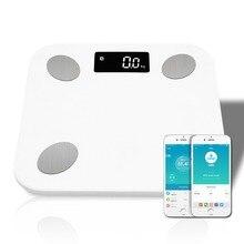 Floor-Body-Scale Balance Bathroom Smart-Body Electronic Digital-Weight Bluetooth Fat