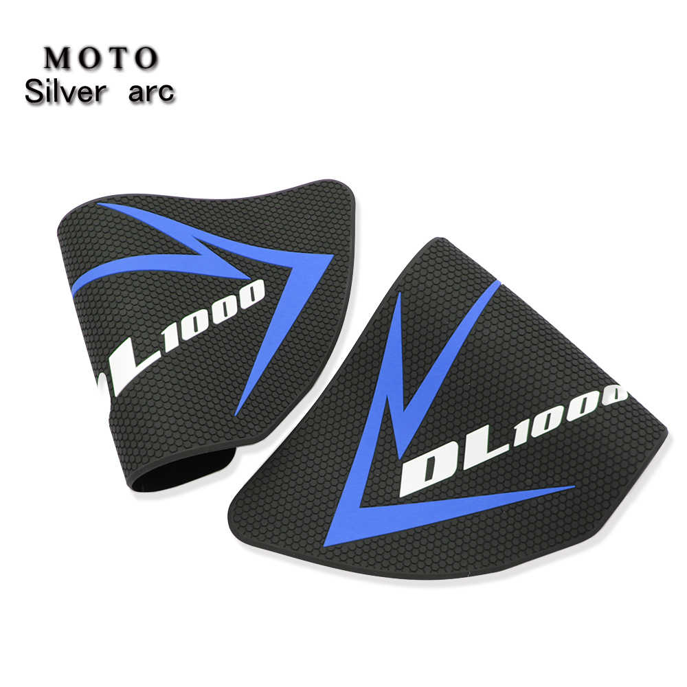 Semoic Motorcycle Fuel Tank Sticker Gas Fuel Oil Tank Pad Protector Decal for V-STROM DL1000 DL 1000 2017-2019
