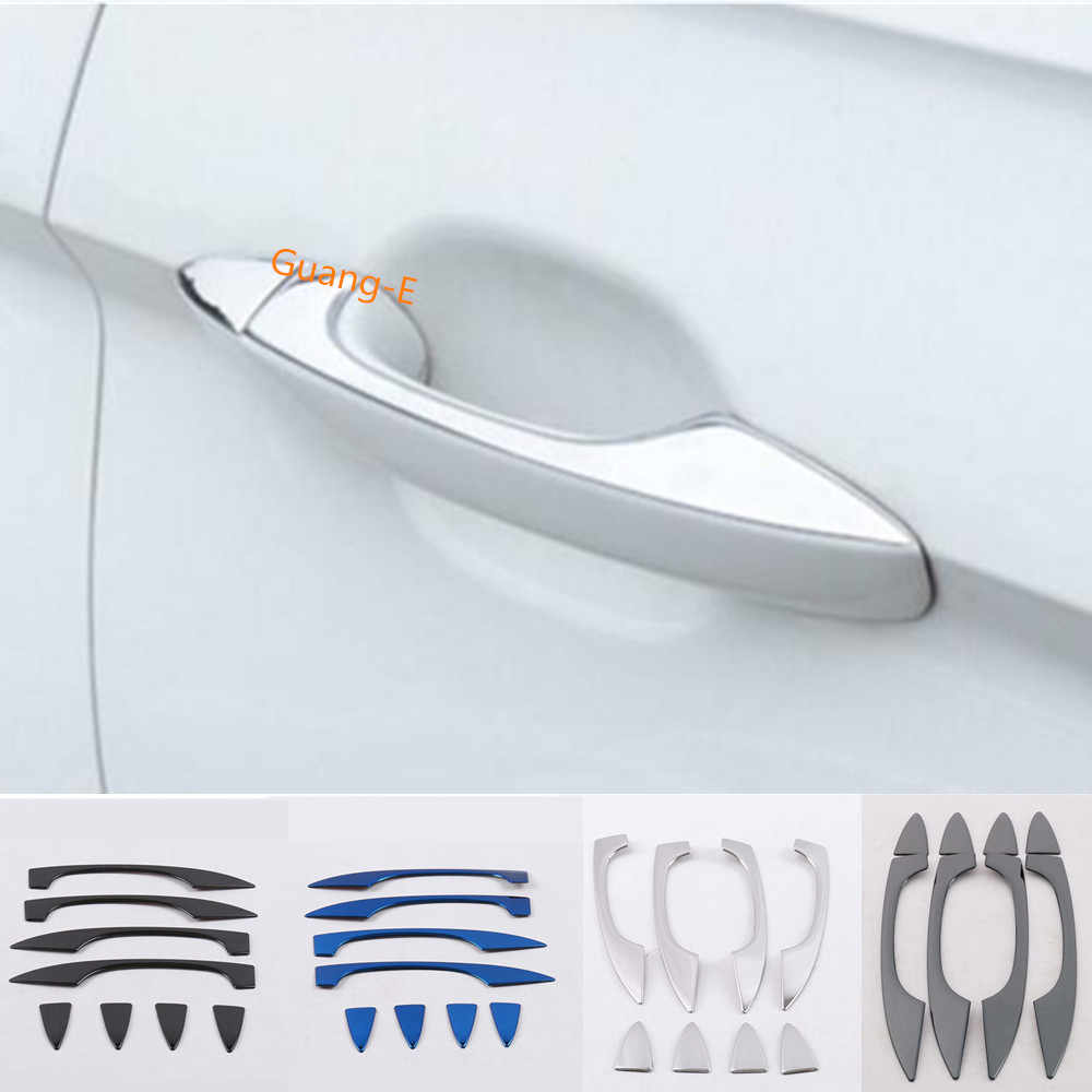 Color: A0070Ba63 Mathenia Car Parts for Benz Smart fortwo 2012 2013 2014 car Cover Muffler Exterior Back end Pipe Dedicate Exhaust tip Tail Outlet Ornament 1pcs