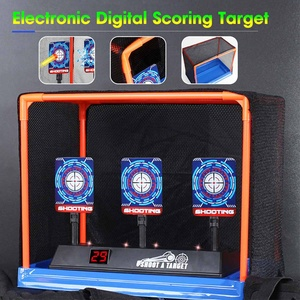 Home DIY High Precision Auto Scoring Board Reset Electric Target For Toy Guns Accessories Outdoor Fun Sport Toys Dropshipping