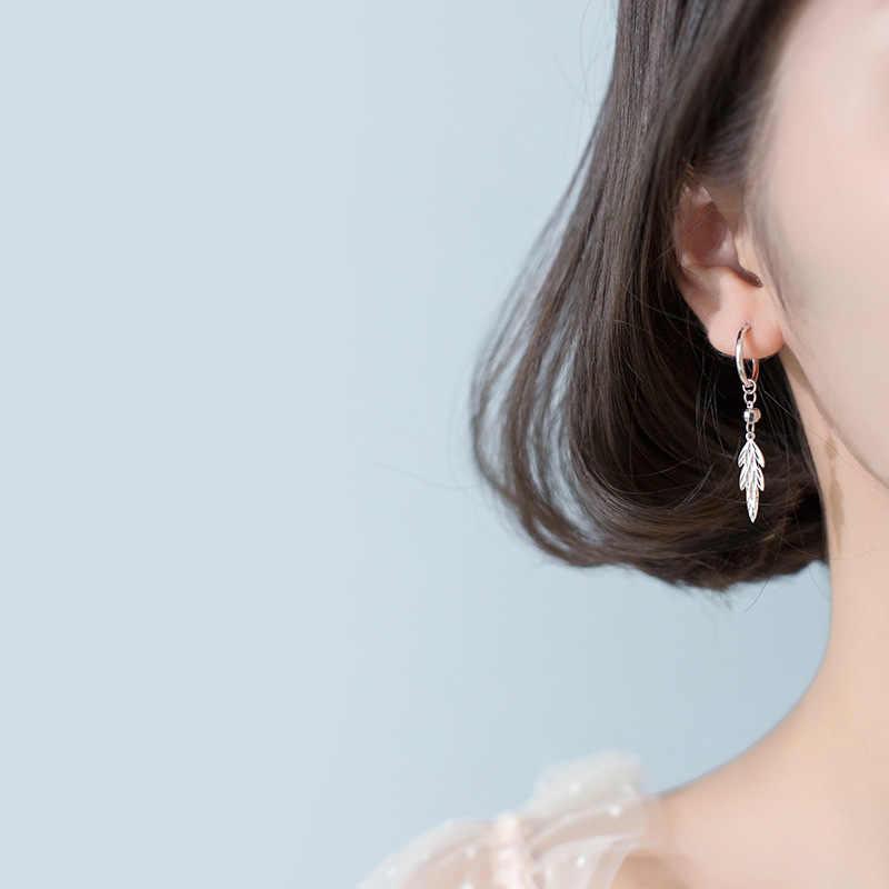 2019 novo pequeno 925 prata esterlina pendurado brincos para as mulheres olho cruz coração cobra estrela charme pequenos studs brinco da506