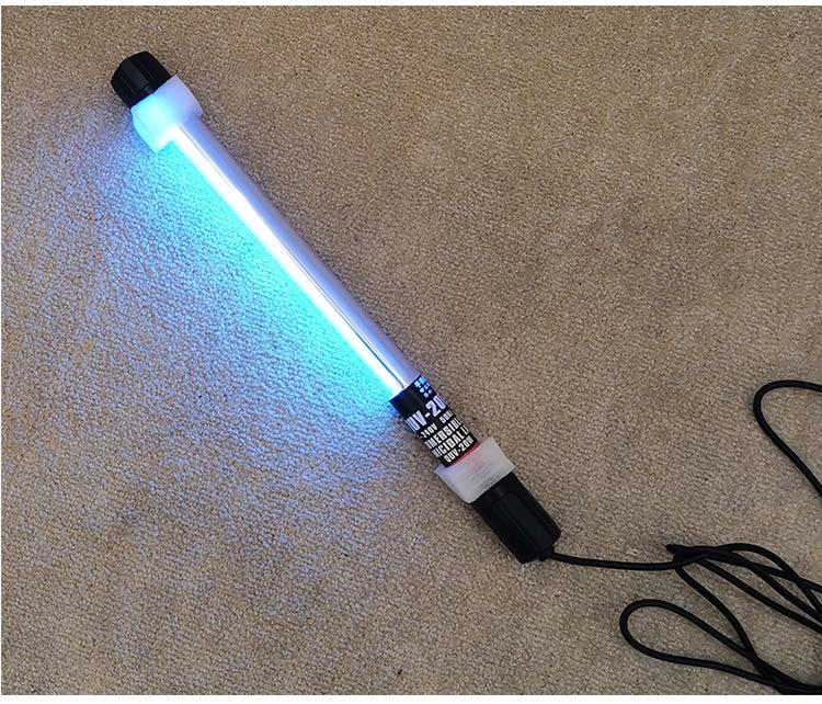 Portable Uv Sterilizer Hand-held Ozone Uv Desinfection Lamp 110V 220V Far Uvc Wand Germicidal Ultraviolet The Mask