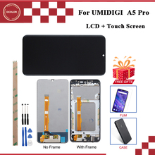 ocolor For UMI Umidigi A5 Pro LCD Display and Touch Screen Assembly For Umidigi A5 Pro Screen + Tools +Adhesive With Frame Film