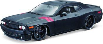 M&J Maisto 2008 Dodge Challenger Matt Black Modern Muscle 1/24 Diecast Model Car 32529, Multicolor Wall tin sign