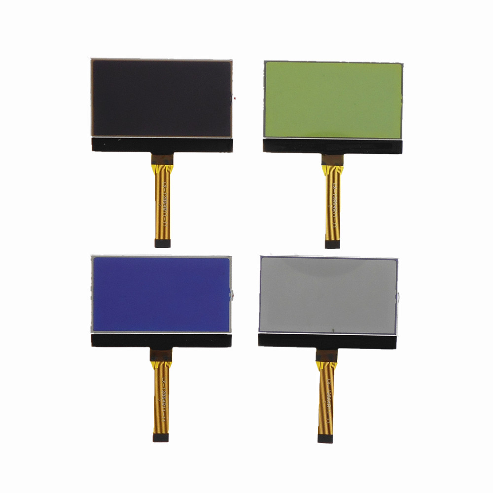 12864B11 12pin 12864 LCD Screen With Backlight 128*64 Dot Matrix Display FPC Plug-in Connection
