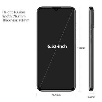 Ulefone Note 9P Smartphone Android 10 4GB+64GB Waterdrop Screen 6.52-Inch Octa-Core 4G Android Mobile Phone 4