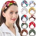ChenYan взрослых орнамент украшение на голову; Мода для девочек; Повязки на голову для женщин повязка с принтом Цвета