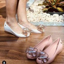 Adult Melissa Ultragirl Sweet VI Bow Women Jelly Shoes Sandals 2020 Gir