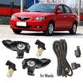 Светодиодный туманные светодиодные фары s для Mazda 3 M3 2003-2010 л, противотумансветильник фасветильник s, светодиодный светильник противотуманны...