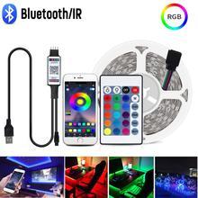 5V USB Led Tv Cabinet Light Home Wardrobes Kitchen Bedroom Lights Lighting RGB 1/2/3/4/5M Neon Sign LED Strip Closet Table Lamp
