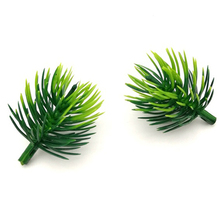 100pcs Artificial pine needles Fake Plants Branches flowers For Christmas Tree Decorations DIY Accessories