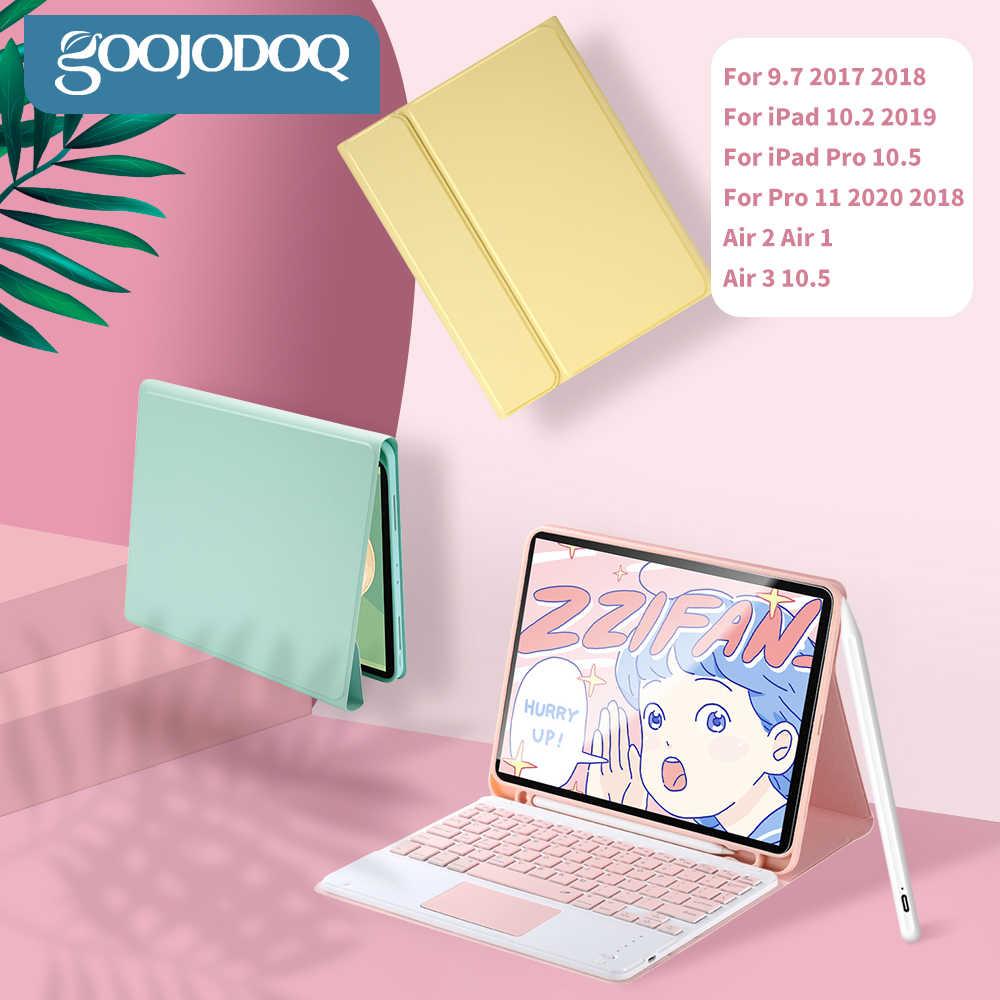 Ipadの 7th世代 10.2 9.7 「bluetoothキーボードプロ 11 空気 3 プロ 10.5 空気については、マウスに 2 サムスンのandroidタブレット 아이패드 키보드