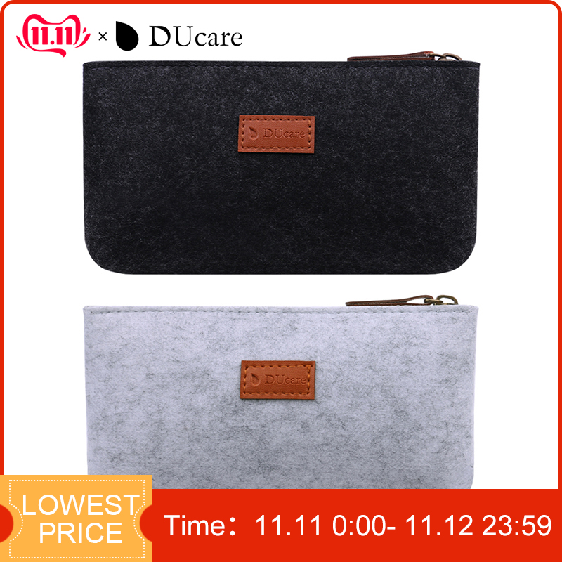 DUcare Makeup Brush Bag Case Travel Pouch Portable Beauty Organizer Cosmetic Tools