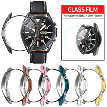 Cover Galaxy Watch Samsung Bumper Case Screen-Protector 3-41mm Lightweight Soft for 45mm